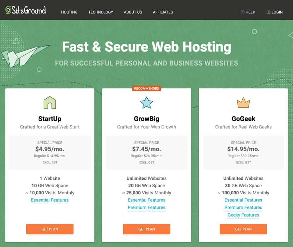 Cheap Website Hosting Sign Up